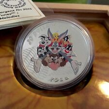 Canada 2015 $20 LOONEY TUNES MERRIE MELODIES 1oz Silver Coin 99-CENT AUCTION