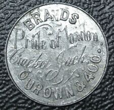 PRIDE OF LONDON BRANDS - CRACKER JACK Our Own & 400 TOKEN - London Tobacco Co.