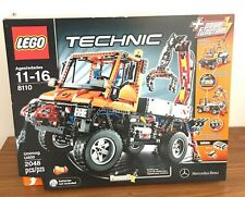 LEGO 8110 Technic Mercedes-Benz Unimog U400 New Sealed In Box