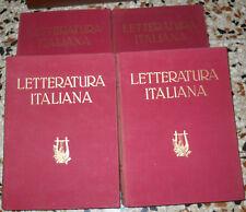 Arturo Pompeati: Storia della letteratura italiana - 4 volumi utet illustrata