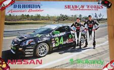 2012 Skullcandy Team Nissan #34 Altima Coupe ST signed Continental Tire poster