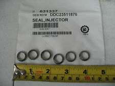 Detroit Diesel Series 60 Graphite Injector Seals Qty 6 PAI# 631337 Ref# 23511870