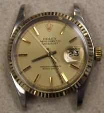 Rolex 1601 Two-Tone Case+Movement Datejust NO BAND Serviced