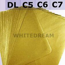 "7X5 Envelopes - for 5"" x 7"" Greeting Cards 100GSM Premium Quality 