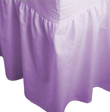 Polycotton 68pick Super soft luxury  Fitted Valance Sheet Bed Sheet.S,D,K,S.KING