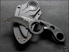 Smith Wesson HRT Tactical Bear Claw Serrated Pocket Karambit Bowie Knife 14.5 CM