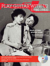 "Play Guitar with"" U2"" 1980 - 1983 (Play Guitar with...), U2, New Book"