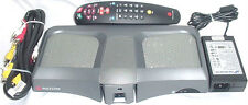 POLYCOM V500 IP NTSC CONFERENCE SYSTEM WITH CAMERA ,REMOTE ADAPTOR,AV CABLE LAN