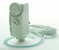 TEAMS CLAMP ON HOT WATER CYLINDER DIAL THERMOSTAT PIPE STAT INC MOUNTING STRAP