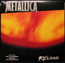 Metallica RELOAD Gatefold BLACKENED RECORDINGS New Sealed Vinyl Record 2 LP