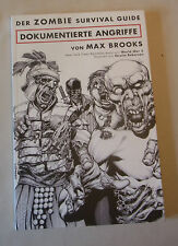 Max Brooks Zombie Survival Guide S/W Comic DOKUMENTIERTE ANGRIFFE