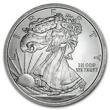 5 oz Silver Round - Walking Liberty - SKU #87489