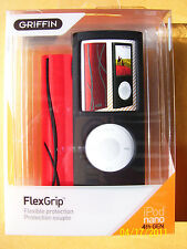 Griffin FlexGrip Cases for iPod Nano 4th GEN Red & BLK