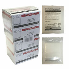 Case of 100 Steroplast Steropad Sterile Low Adherent Wound Dressing Pad 7.5cm
