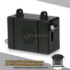 Fuel Cell Radio Receiver Hide Electronics Box for 1/10 Axial SCX-10 4WD Car M0N8