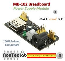 MB102 MB-102 Solderless Breadboard Power Supply Module 3.3V 5V