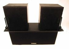 Fisher WS-424 Home Theater Surround Sound Pro Logic Speakers WS-C424 WS-R424