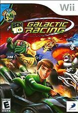 NEW Nintendo Wii video game: Ben 10 Galactic Racing (Free Shipping)