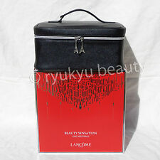 Lancome Holiday 2014 Beauty Collection Cosmetic Train Case Black NIB
