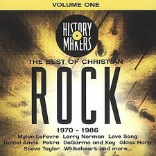 V/A History Makers Best of Christian Rock Volume 1 CD 2003 NEW 1970-1986 PETRA