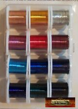 M00053 MOREZMORE 12 Colors OOAK Wings Soft Thin Craft Wire 26 GA Set Darice