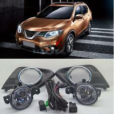 OEM for Nissan Rogue X-Trail T32  Fog Light Lamps & wiring harness Switch Kit
