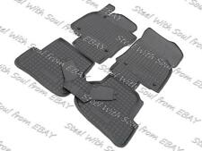 Fully Tailored Rubber / Car Floor Mats Carpet for SKODA OCTAVIA II 2005—2013