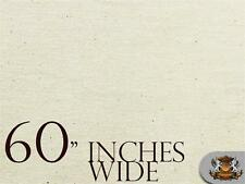 """60 """" Wide Muslin Fabric Natural Cotton / Sold by the yard"""