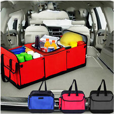 Collapsible Multi Storage Basket Car Truck Cooler set Organizer for SUV Trunk