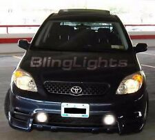 2003-2008 TOYOTA MATRIX BLUE ANGEL EYE HALO FOG LAMPS lights 03 04 05