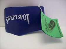 Soccer Shoe Boot Lace Covers 1 pair Shoelace Bands Sweet Spot - NEW - BLUE