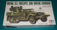 M16 U.S. Multiple Gun Motor Carriage Tamiya 1/35 Unstarted Few Pieces Missing.
