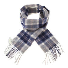 LYLE & SCOTT - SOFT, LUXURIOUS 100% LAMBSWOOL SCARF - BANNOCKBANE SILVER
