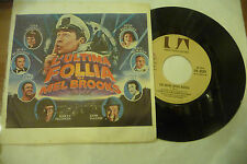 "LIONEL NEWMAN""ULTIMA FOLLIA DI MEL BROOKS-disco 45 giri UA 1976"" OST"