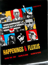 Happenings & Fluxus by Charles Dreyfus; Published by Philippe Camus, Paris,1989