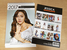GIRLS' GENERATION JESSICA TAEYEON TIFFANY SNSD JESSICA 2017 2018 DESK CALENDAR +