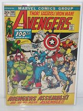 THE AVENGERS #100 - Barry Smith Art - FN/VF 1972 - Thor CAPTAIN AMERICA Iron Man