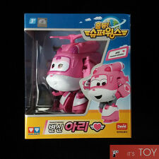 Super Wings ARI Transforming Plane Helicopter Toys TV Animation Series Auldey