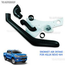 Kit Set Black Off Road Snorkel Fit Toyota Hilux Revo 4x4 SR5 M70 M80 2015 2016