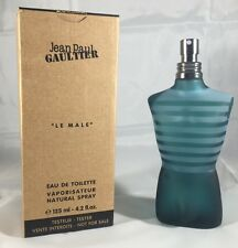 Le Male By Jean Paul Gaultier 4.2 Oz EDT Spray Brand New Tester Cologne For Men