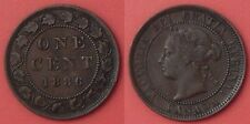 Very Fine 1886 Canada Large 1 Cent
