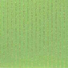"12"" Scrapbook Paper Glitter Stripe Grass Green Heavy Cardstock St Patrick's Day"