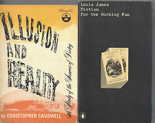 ILLUSION & REALITY Christopher Caudwell FICTION FOR THE WORKING MAN Louis James