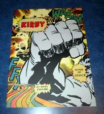 promo JACK KIRBY KING OF COMICS dust cover with 8 pages KAMANDI 9x12 color DOOM