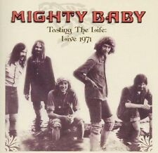MIGHTY BABY - TASTING THE LIFE : LIVE 1971 (NEW & SEALED) Rock CD #5051125506415