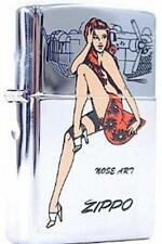 Zippo 6883 nose art pinup girl Lighter