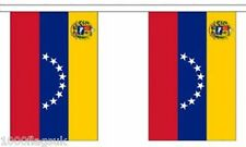 Venezuela 8 Stars State Polyester Flag Bunting - 9m long with 30 Flags