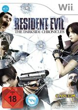 Nintendo Wii juego-residente Evil: the Darkside Chronicles (con embalaje original)