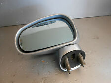 AUDI TT 8N 2001 NS PASSENGER SIDE ELECTRIC DOOR WING MIRROR SILVER LY7W