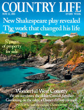 Country Life May 27 2015 William Shakespeare,Chelsea Flower Show,Red Ruby Devons
